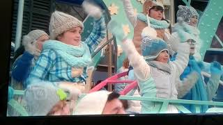 Macy's Thanksgiving Day Parade. Most profound Moment with Angelica Hale, caught on screen.