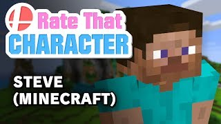 Steve? (Minecraft) - Rate That Character
