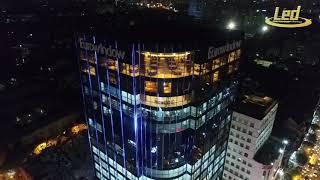 Chiếu sáng trang trí tòa nhà EUROWINDOW - Số 2 Tôn Thất Tùng
