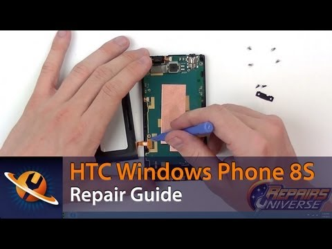 HTC Windows Phone 8S Screen Replacement Repair Guide