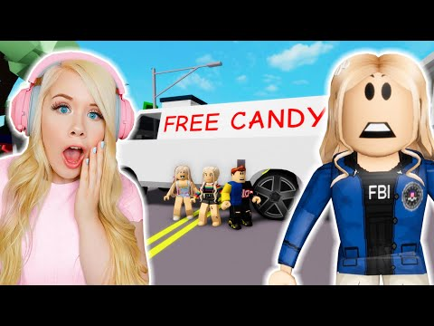 I ARRESTED A KIDNAPPER IN BROOKHAVEN! (ROBLOX BROOKHAVEN RP) - Mackenzie Turner Roblox