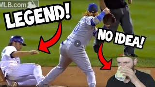Rugby Player Reacts to BASEBALL Greatest Plays You Will Ever See!