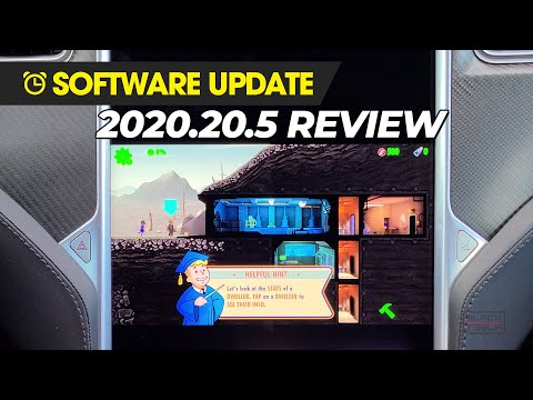 Tesla Software Update - 2020.20.5 Fallout Shelter & Media Enhancements