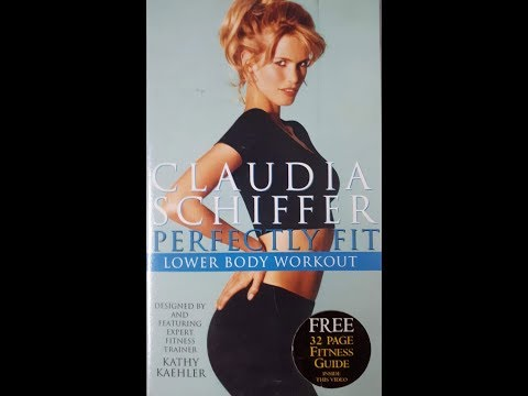 claudia-schiffer:-perfectly-fit-lower-body-workout-(1996-uk-vhs)