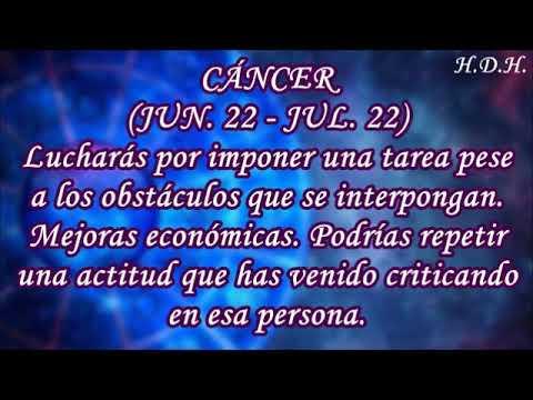 Horoscopo De Hoy Cancer
