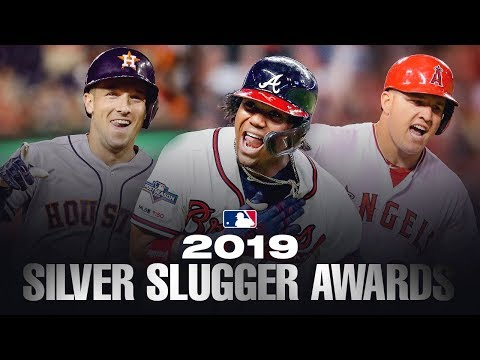 The best hitters in MLB! 2019 MLB Silver Sluggers 1