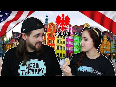 Americans Taste Test Polish Snacks - Try Treats