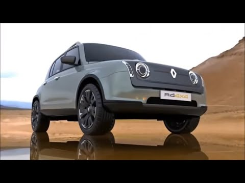 new renault r4 l 4x4 concept nuevo renault r4 4. Black Bedroom Furniture Sets. Home Design Ideas