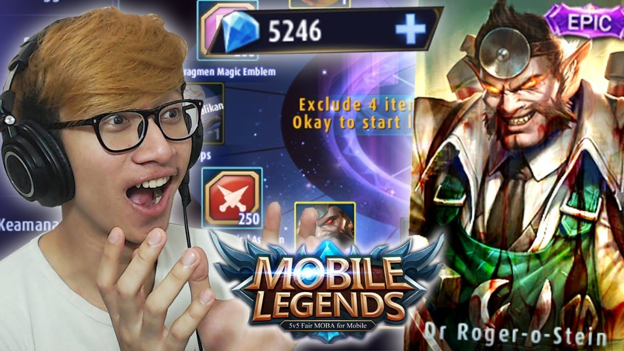 5000 DIAMOND BUAT LUCKY BOX NEW SKIN ROGER ! - MOBILE LEGENDS INDONESIA #1