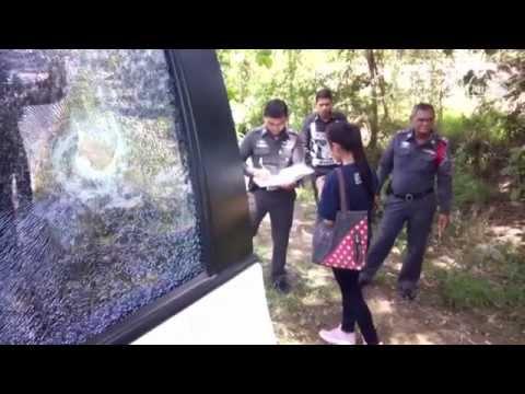 แก๊งปาหินอาละวาดบุรีรัมย์ เศษกระจกร่วงใส่หน้าเด็กวัยขวบเศษ