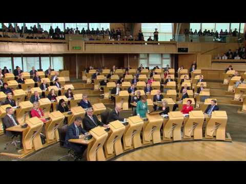 Sandra White MSP - Shell Job Losses In Glasgow - First Minister's Questions - 17/11/2016