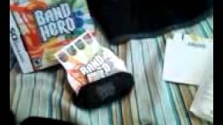 Band hero ds unboxing and gameplay