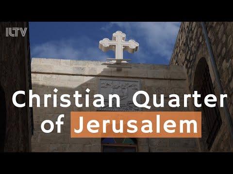 Explore The Christian Quarter Of The Holy City Of Jerusalem
