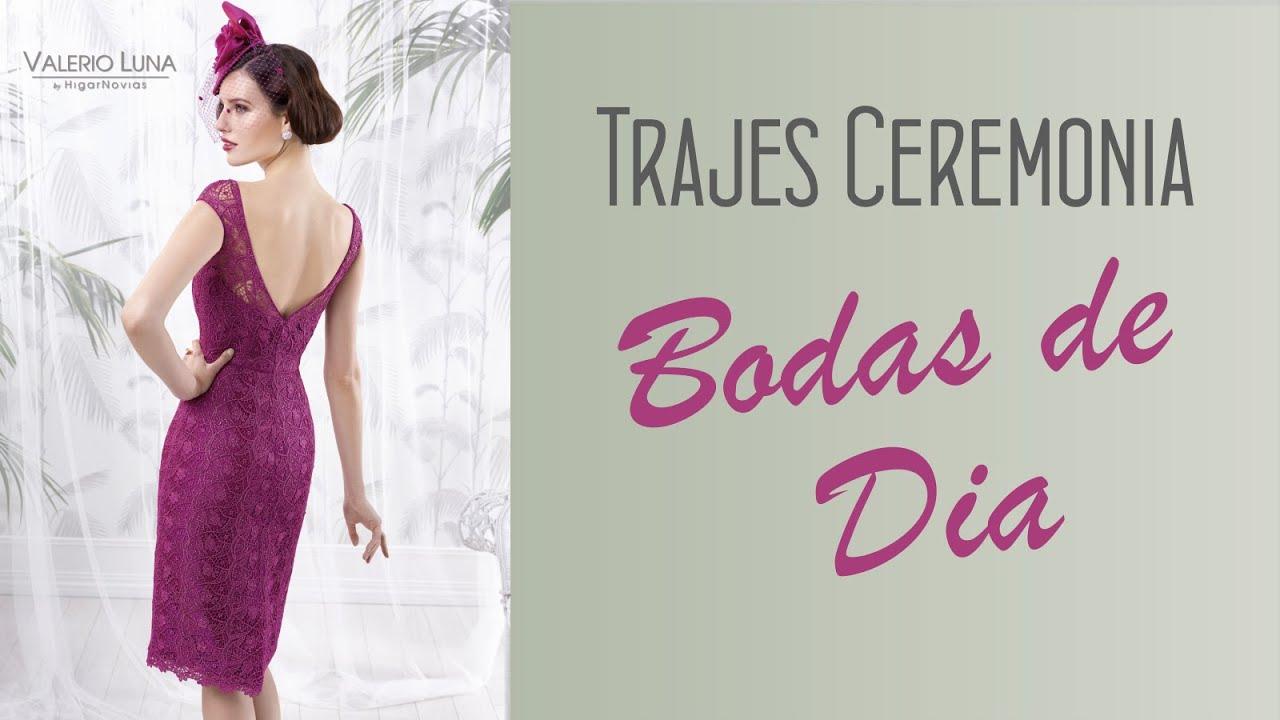 Trajes de ceremonia para bodas de d a youtube for Boda en jardin como vestir