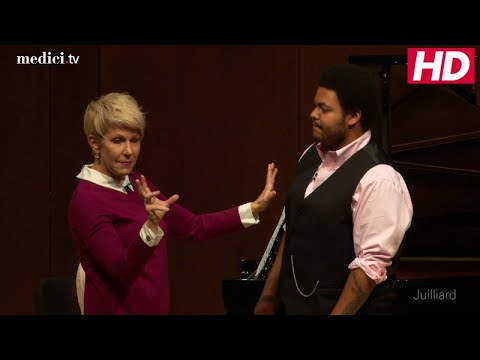 "Joyce DiDonato Master class - Donizetti: ""Una furtiva lagrima"" (L'elisir d'amore)"