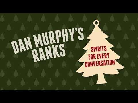 Dan Murphy's Ranks Spirits For Every Conversation