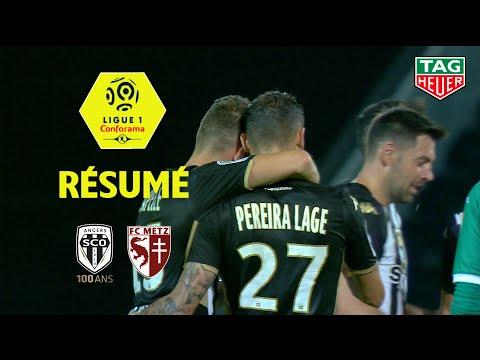 Angers SCO - FC Metz ( 3-0 ) - Résumé - (SCO - FCM) / 2019-20