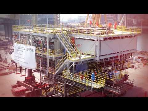 N-KOM: Offshore Fabrication Works for Bul Hanine Re-Developm
