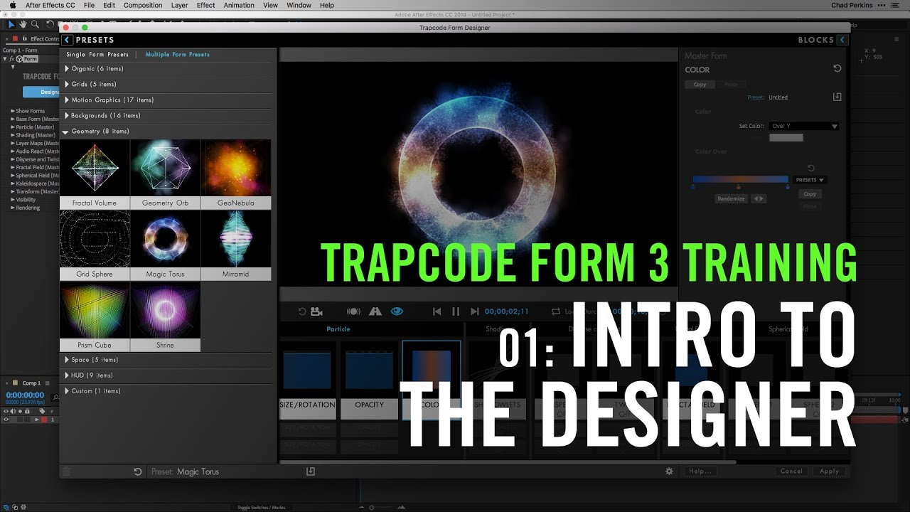 trapcode form after effects download free