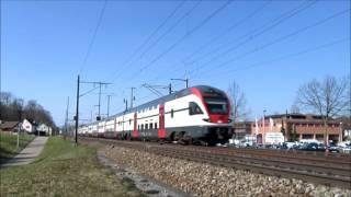 S-Bahn Zürich - Traffico ferroviario nel canton Zurigo, Inverno 2015-16