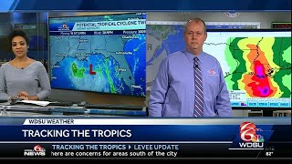 National Hurricane Center provides update on tropical weather