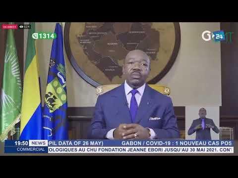 [#Direct] Allocution du président de la République Ali Bongo Ondimba