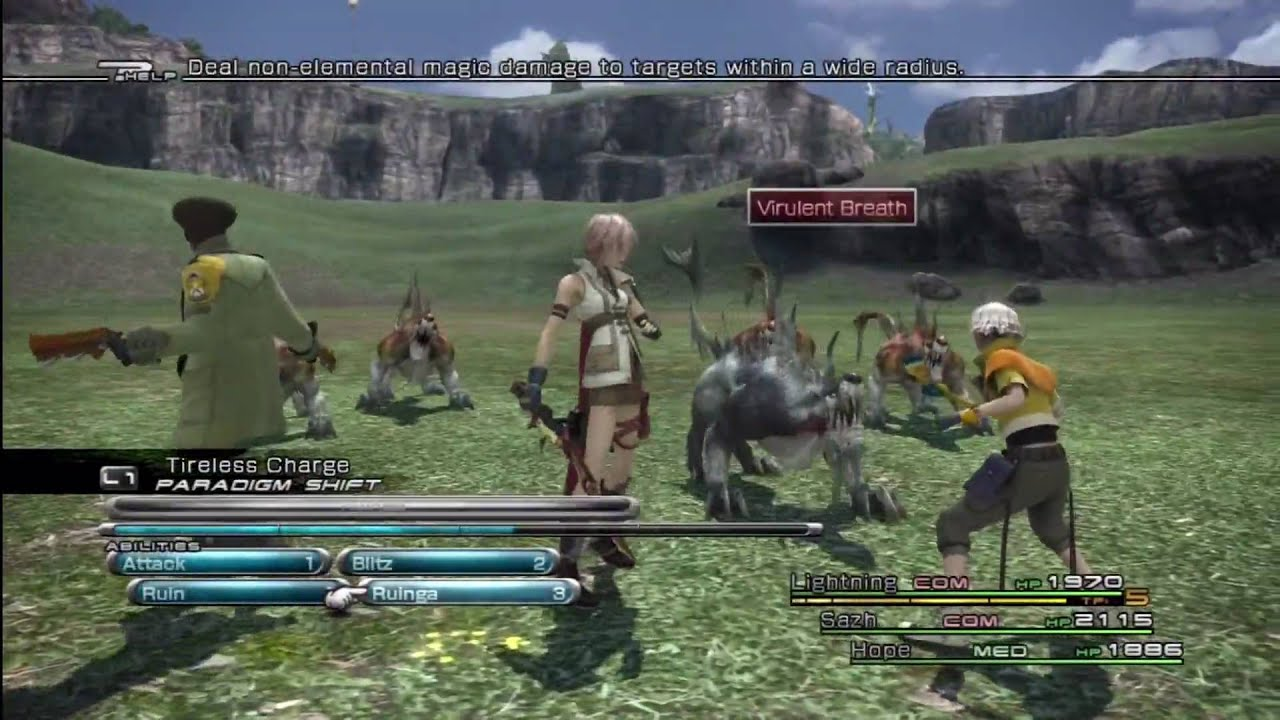 Final Fantasy 13 has a fake world map     YouTube Final Fantasy 13 has a fake world map