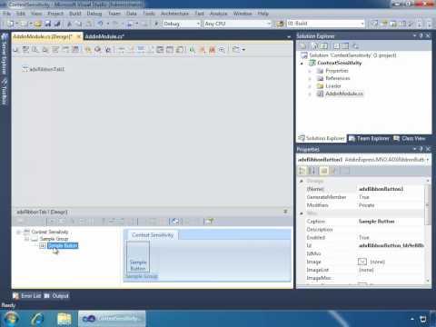 How to develop context-sensitive Outlook plug-ins (C#, VB.NET)