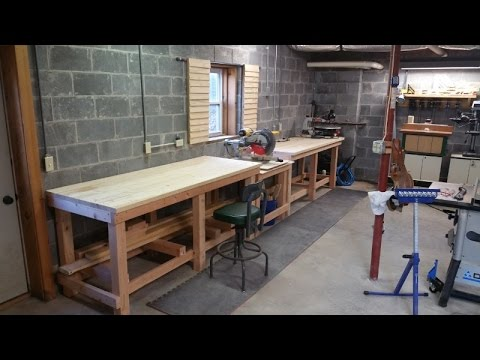 How to Build a Professional Style Workbench  YouTube