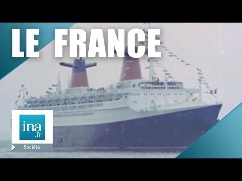 La vie à bord du paquebot France   Archive INA