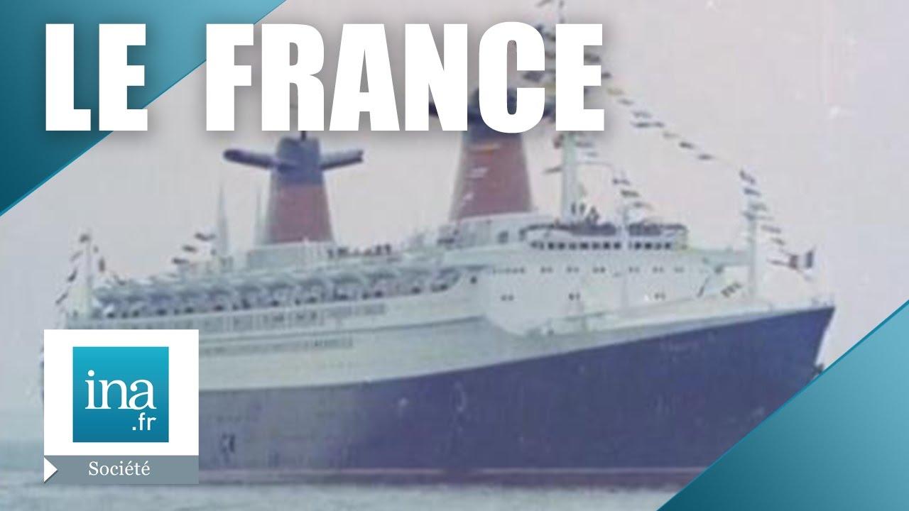 La vie à bord du paquebot France | Archive INA - YouTube