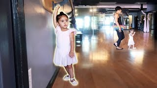 ELLE'S BALLET CLASS!!! (SHE'S GROWING UP SO FAST)