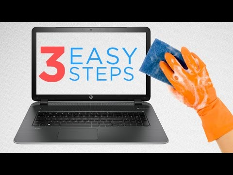 Homemade Solution;Simple Method To Clean Your Laptop Within 2 Minutes.