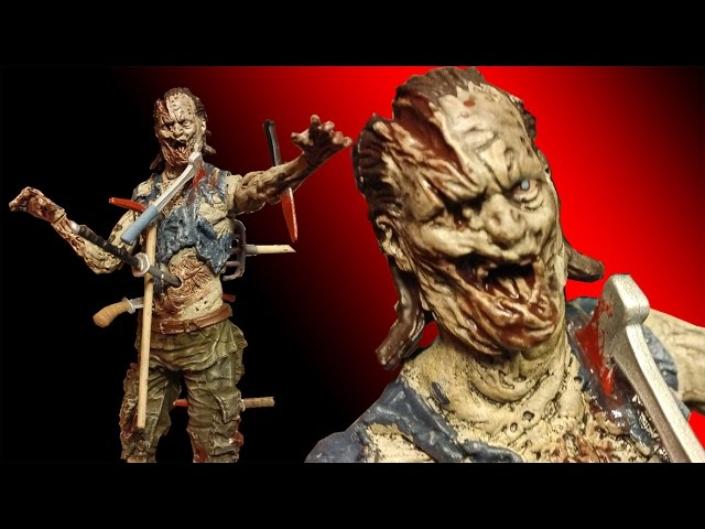 The Walking Dead Pin Cushion Zombie Action Figure Review