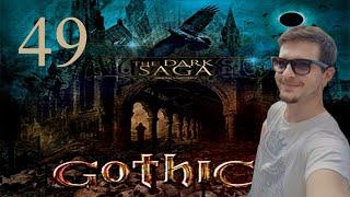 49#GOTHIC II NK - The Dark Saga - BITWA Z ORKAMI I ODBICIE KOPALNI!