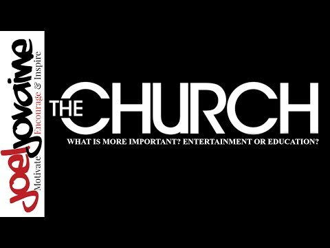 Christian Rant - Church Entertainment VS Education