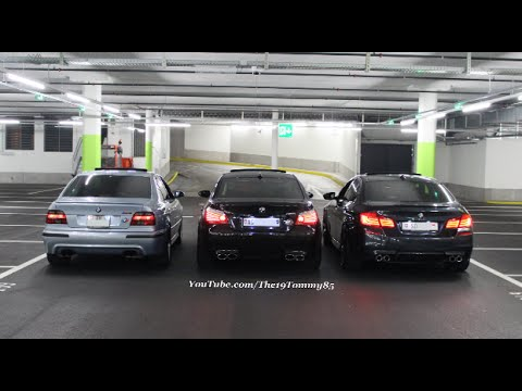 bmw m power soundcheck m5 e39 m5 e60 m5 f10 youtube. Black Bedroom Furniture Sets. Home Design Ideas