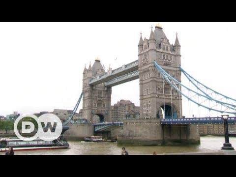Blick auf die Londoner Tower Bridge | DW Deutsch
