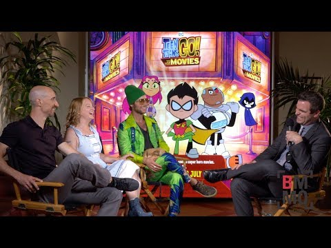 Scott Menville, Hynden Walch, & Greg Cipes   Teen Titans Go! To the Movies