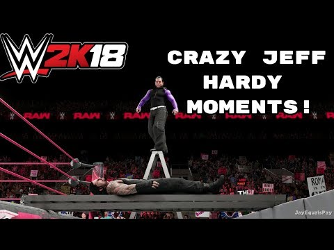 WWE 2K18: Craziest High Flying Jeff Hardy Moments