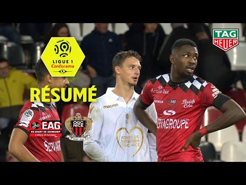 EA Guingamp - OGC Nice ( 0-0 ) - Résumé - (EAG - OGCN) / 2018-19