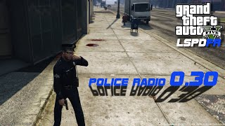 LSPDFR Police Radio 0.30 Updates Video - Install, Uninstall, and Use Showcase