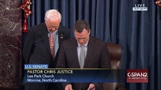 Senate Prayer from Rev. Chris Justice (C-SPAN)