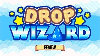 iPhone and iPad Game Drop Wizard - Review and Gameplay