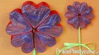 Jak zrobić kwiat z serc z prezentem?