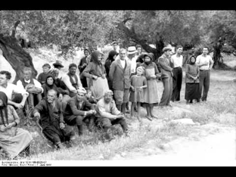 The brutal execution from the murderous German soldiers1941 in CHANIA KONTOMARI 2 6 1941