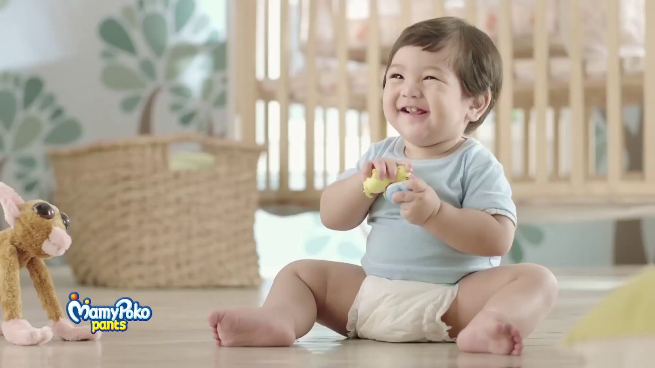 MamyPoko Pants | With Triple Ring Support - YouTube