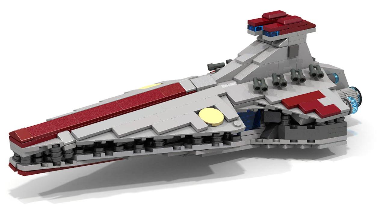Lego Star Wars Venator Class Micro Youtube