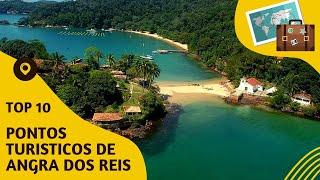 10 pontos turisticos mais visitados de Angra dos Reis
