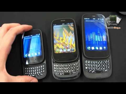 Vergleich des HP Veer, Palm Pre 2 und HP Pre 3